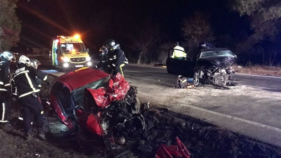 Fallecen dos personas en un accidente en Campo Real